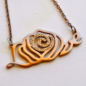 Jewelry - My Last Rose Necklace