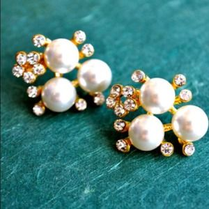 Jewelry - My Pearl Fantasy Earrings (Gold)