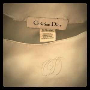 Reserved 🌼 Christian Dior nightgown