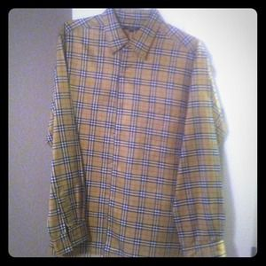 Burberry Tops - BURBERRY Button down.