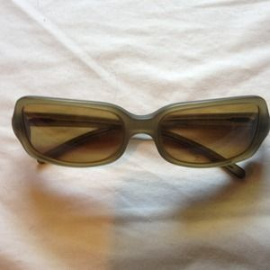 HOLD Prada Authentic olive translucent sunglasses