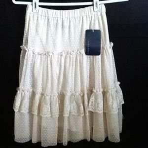 Zara lace skirt
