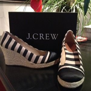 REDUCED!!! J.Crew Wedges