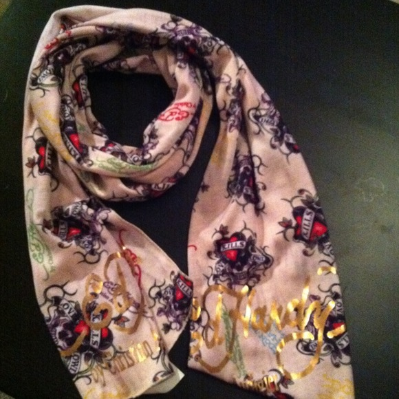 Ed Hardy Accessories - Ed hardy scarf