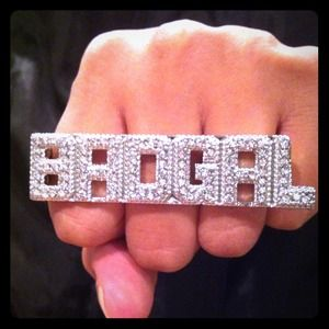 BADGAL Knuckle Bling Ring
