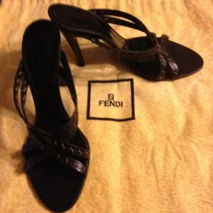 FENDI Shoes - Fendi High heel sandals