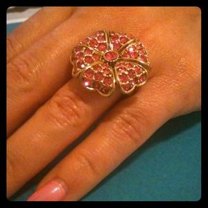 Betsey Johnson flower ring