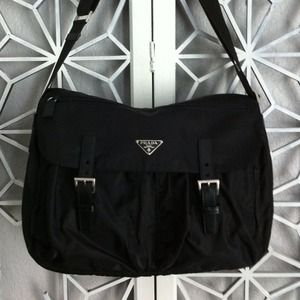 Prada Handbags - ❌HOLD❌Authentic Prada Messenger Large⬇