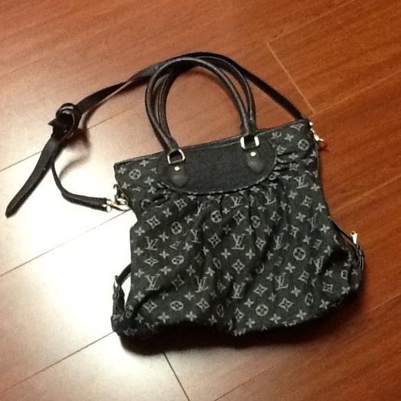 4027b7d23de7 Louis Vuitton Handbags - Louis Vuitton replica monogram denim neo cabby