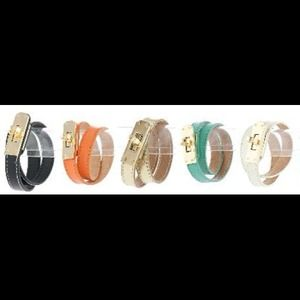 133377 Jewelry - Leather Wrap Bracelet