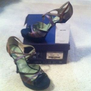 Prada Shoes - **REDUCED Again Authentic Prada Heels