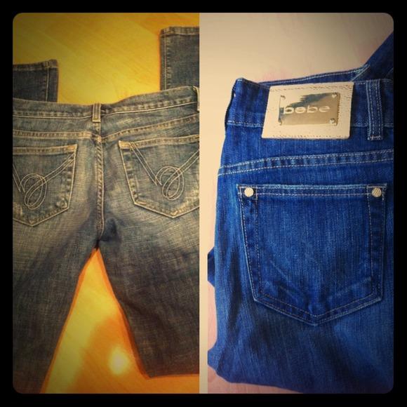 dc4fc15932 bebe Pants - BUNDLE for  malva Bebe jeans size 28