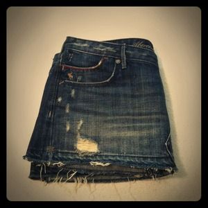 Abercrombie & Fitch Dresses & Skirts - Abercrombie jean skirt sz 4
