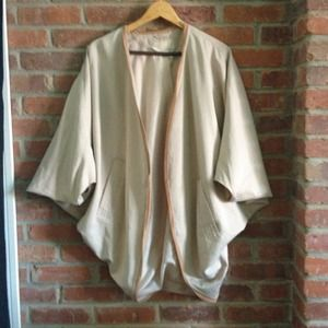 H&M Jackets & Blazers - RESERVED: H&M Kimono Jacket + white skirt