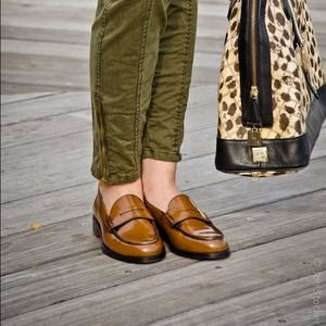 Shoes - Reserved - bundle of TH loafers + Zara fur vest