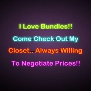 Bundle items and get a better shipping rate😍
