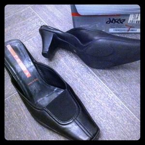 Prada Shoes - SOLD💢Prada sport leather mules