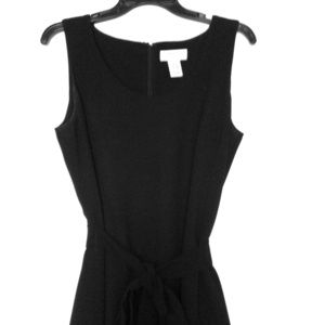 Black knee-length Covington dress