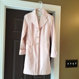 Banana Republic Jackets & Blazers - Banana Republic Pink Coat