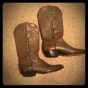 Crown Boot Company Boots - LOWEST PRICE 🔥 Vintage Crown Boot Co. gray boots