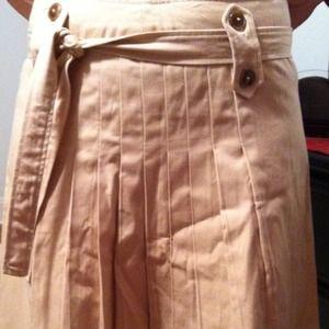 Dresses & Skirts - Beige flare skirt