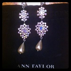 Ann Taylor Jewelry - Statement starburst chandelier earrings