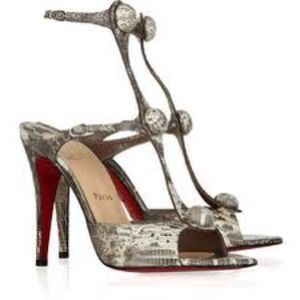 Christian Louboutin Shoes - NIB Christian Louboutin Spartenvol lizard sandals