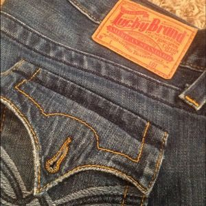 Lucky Brand Denim - Lucky Brand Jeans Sz 28 Inseam 36 Rise 7 Bottom 10