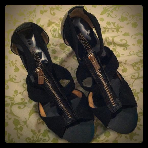 MICHAEL by Michael Kors zip up heels RESERVED