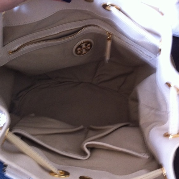Tory Burch Bags - Tory Burch drawstring bucket bag with tassels