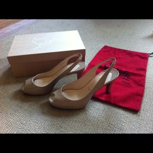 Christian Louboutin Shoes - Make An Offer! Christian Louboutin No Privé Shoes