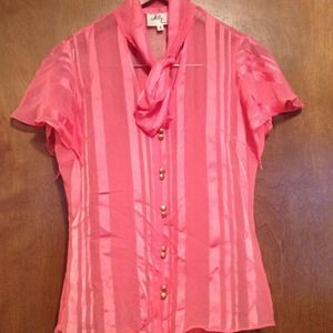 Milly Tops - Milly pink blouse