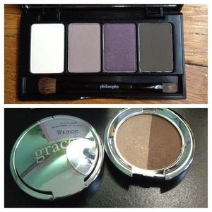 Philosophy Accessories - PHILOSOPHY eyeshadow quad & makeup duo!