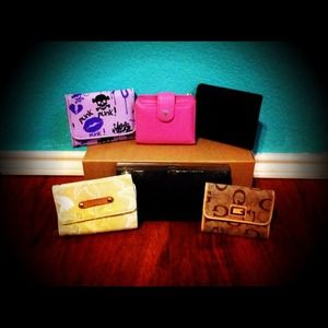 Accessories - Wallets and Clutch BUNDLE