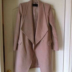 BCBG blush overcoat