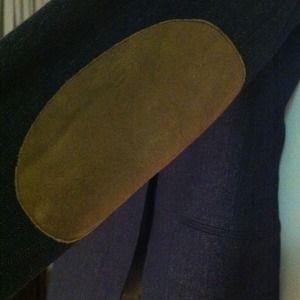 Zara Jackets & Coats - Navy Zara blazer with elbow patches