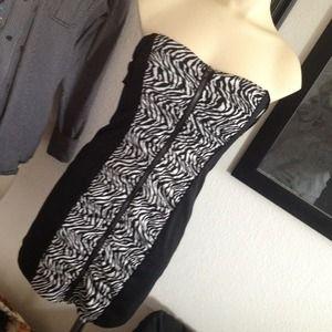 Dresses & Skirts - Zebra party dress