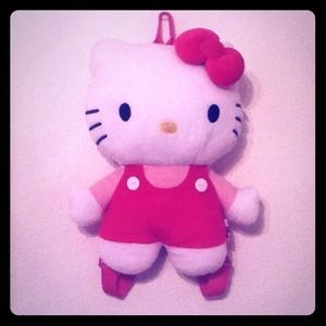 Sanrio Accessories - Hello Kitty Plush Backpack