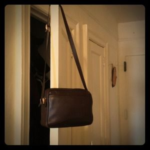 Vintage Brown leather Gucci purse