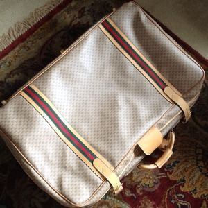 Gucci Other - Vintage Gucci luggage