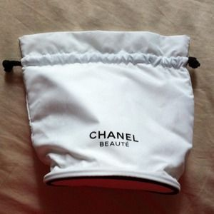 CHANEL Accessories - REDUCED - Chanel Beauté Drawstring Bag