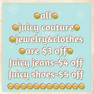 Dresses & Skirts - Save$5on juicy couture shoes&$3 on juicy jewelry