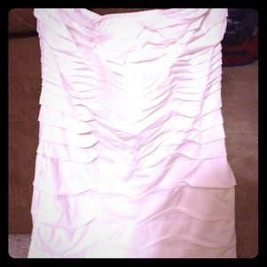 White brand new dress