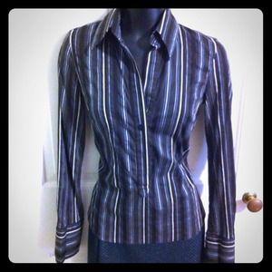 Zara pinstripe shirt