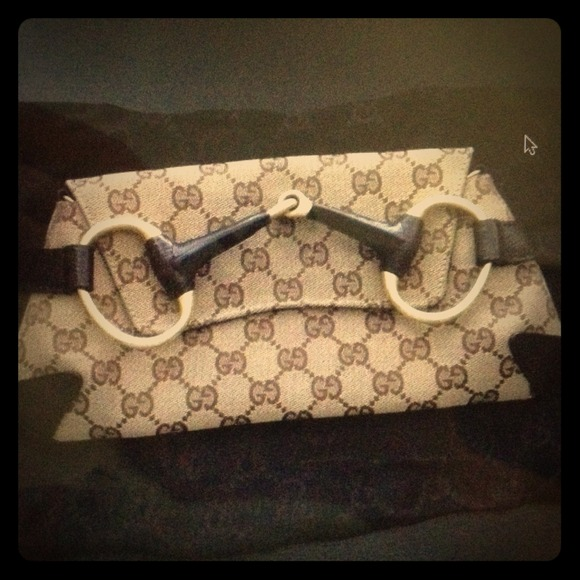 Gucci Clutches & Wallets - Gucci Horsebit Clutch