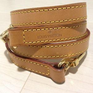 Louis Vuitton Vachetta leather strap