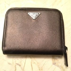 Prada Clutches & Wallets - Prada saffiano leather wallet