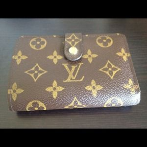 Louis Vuitton Clutches & Wallets - Louis Vuitton monogram French purse wallet