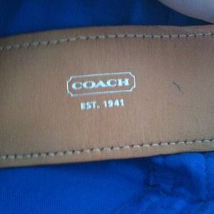 Coach Jewelry - Authentic Coach Monogrammed Cuff