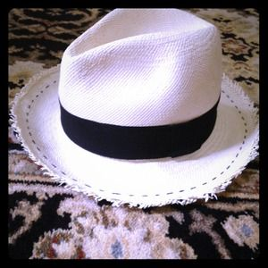 J.Crew straw panama hat